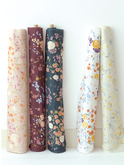 modflowers: Nani Iro - Japanese Fuccra Rainwater