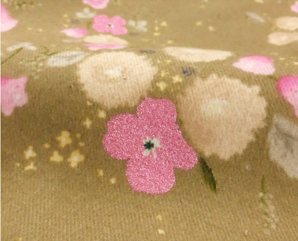 nani iro fabric 2012 little letter gold [floral fabrics, fabrics floral, beautiful floral fabric]