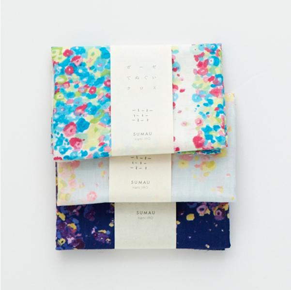 nani iro tenugi hand towel fuwari fuwari [beautiful face cloth, beautiful hand towel, beautiful towel]