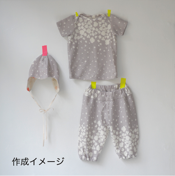 nani iro japan sewing pattern baby three piece set [sweet baby clothes, cute baby clothes, baby clothes patterns]